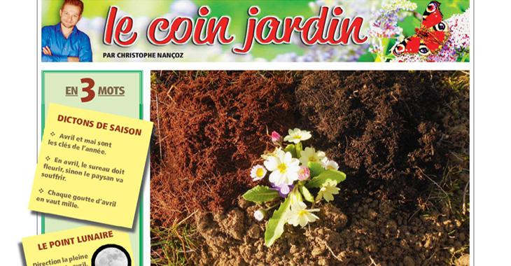 Le coin jardin: la terre