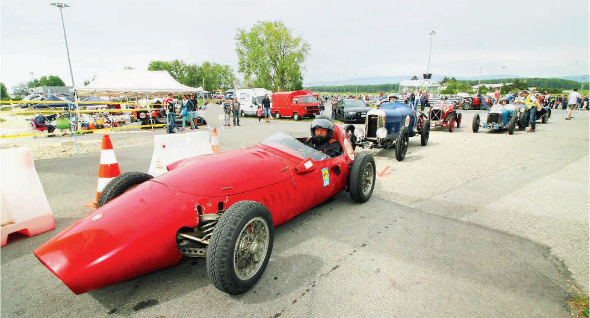 Cossonay – Centre TCS Vaud – Grand succès populaire pour le Grand-Prix du 100e