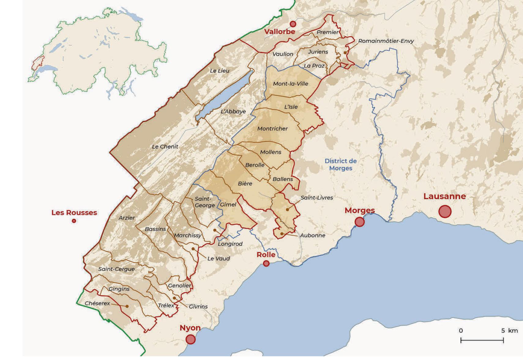 Première suisse pour le Parc Jura Vaudois et district de Morges