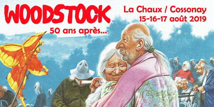 Woodstock, 50 ans après, à La Chaux !