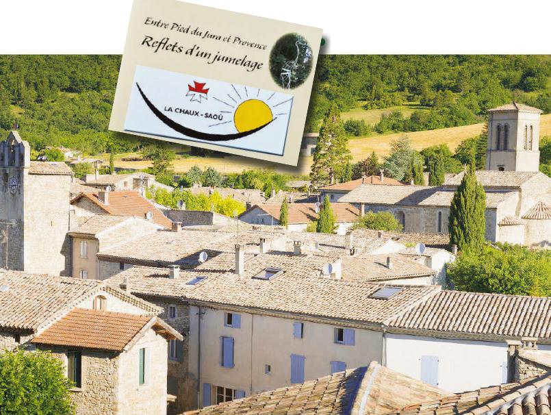 Belles images de Saoû et La Chaux, villages jumelés