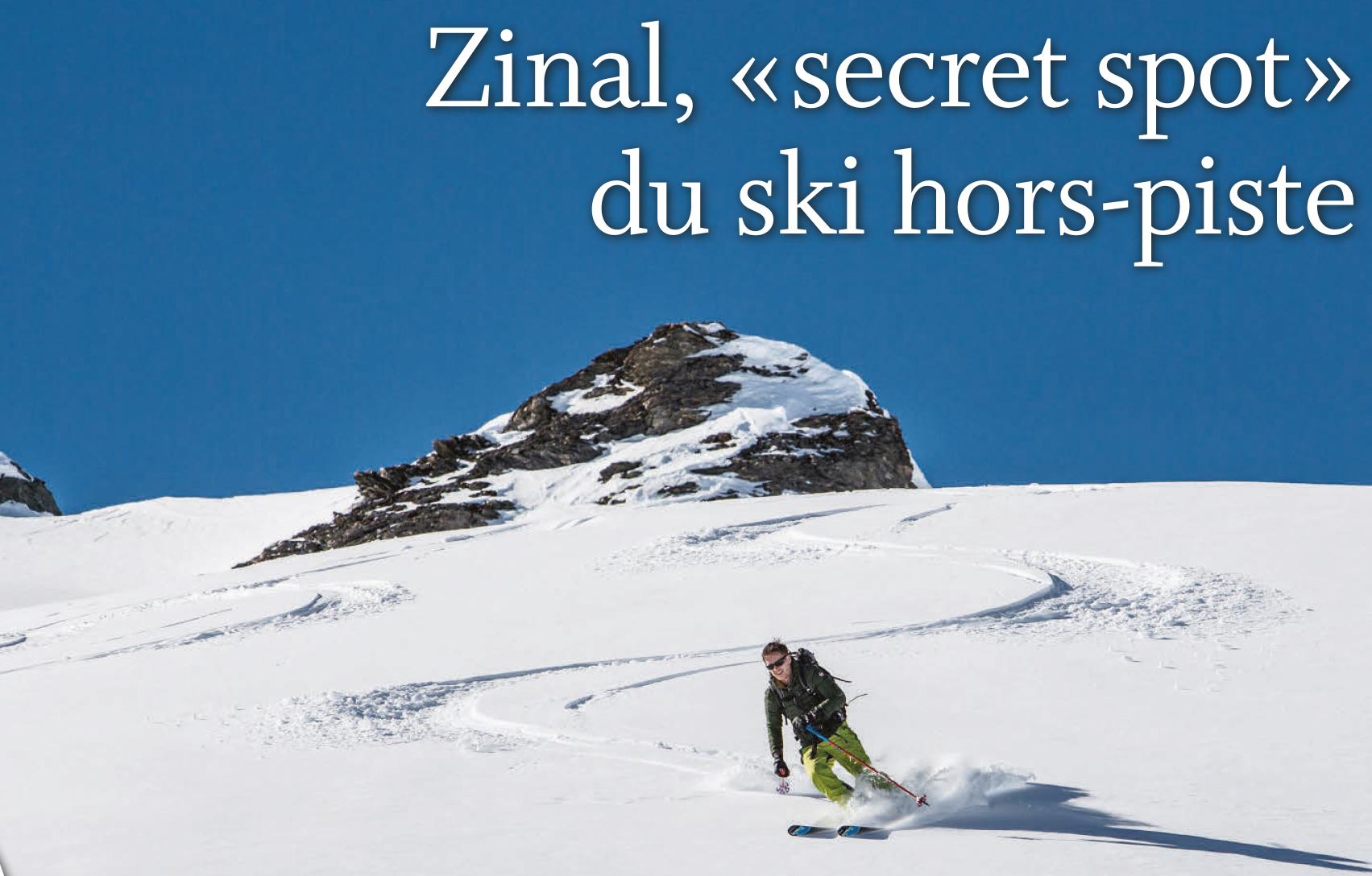 Montagnes – Zinal, « secret spot » du ski hors-piste