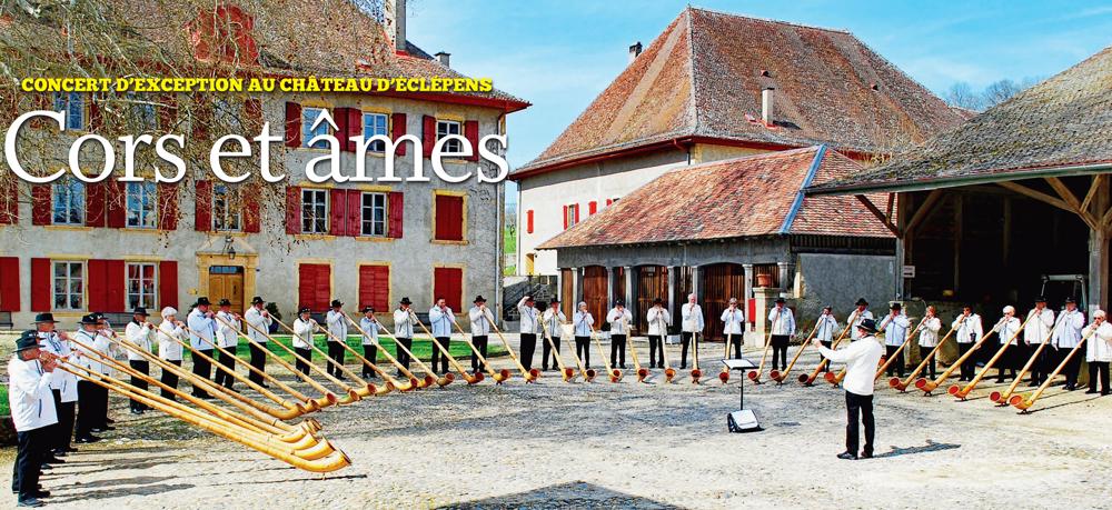 Concert d'exception au Château d'Eclépens