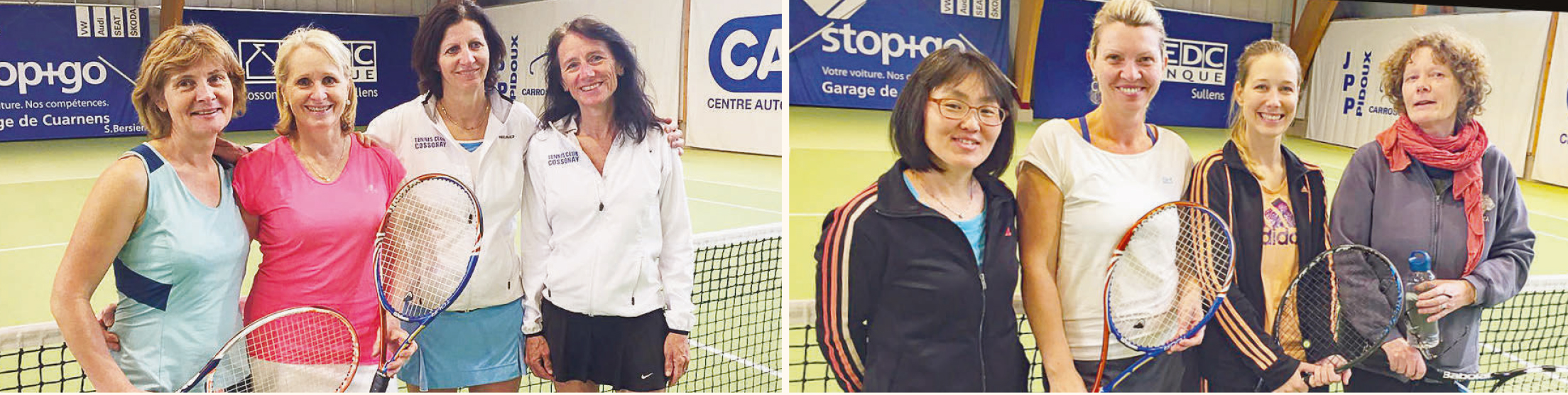 Tennis-Club de Cossonay – Les gagnantes de la 31e édition de la Coupe Franca
