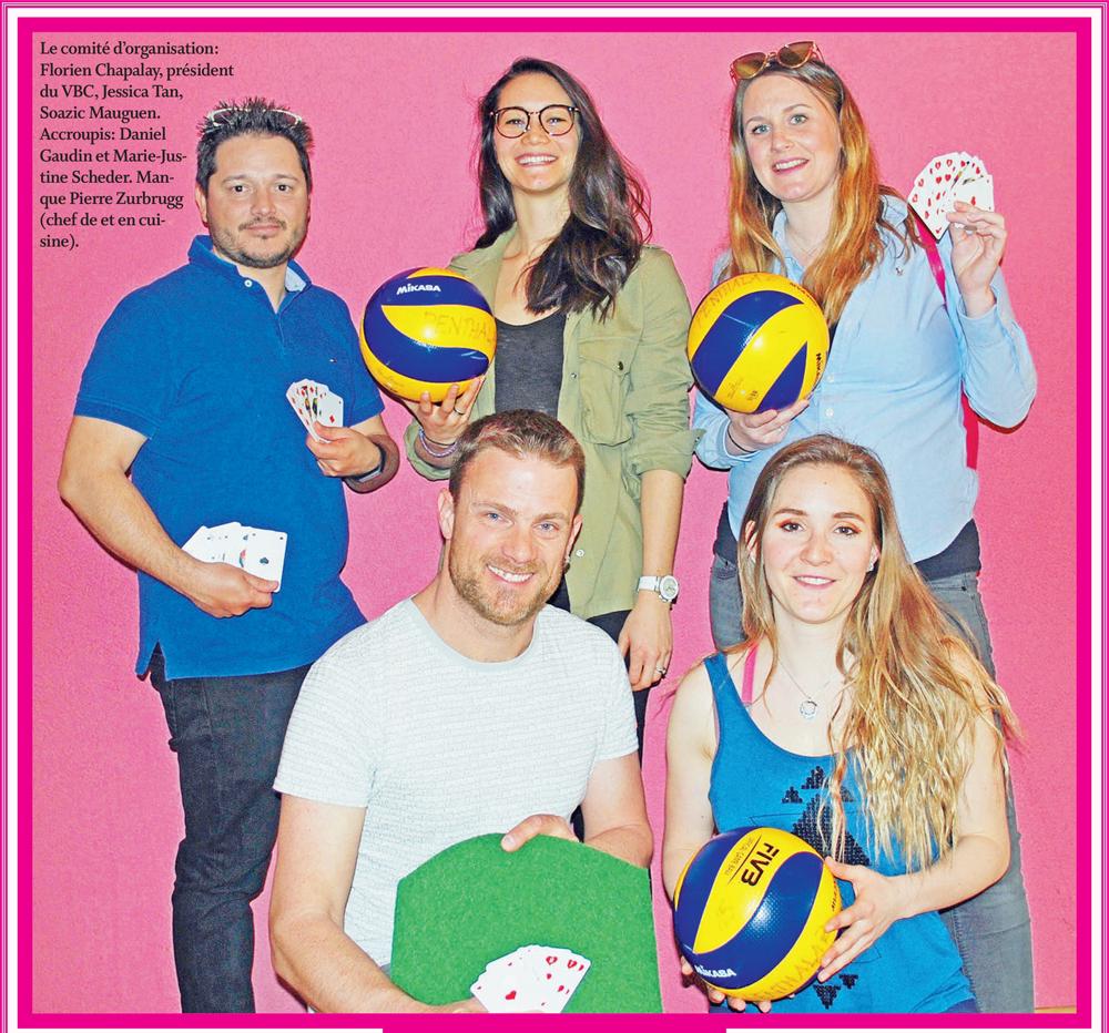 Volley-ball club de Penthalaz – Dynamisme et belle énergie !