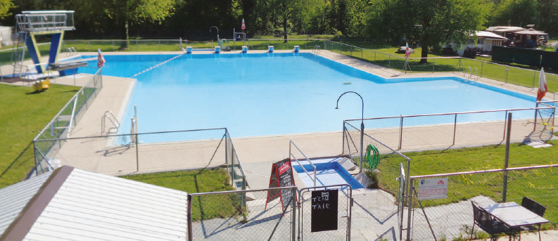 Penthalaz – La piscine a rouvert ses portes