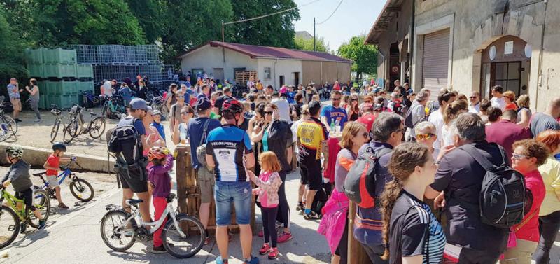 Cossonay – 300 cyclistes pour la balade gourmande