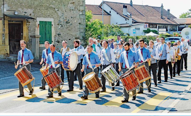 Aclens – 87e giron des musiques du Pied du Jura