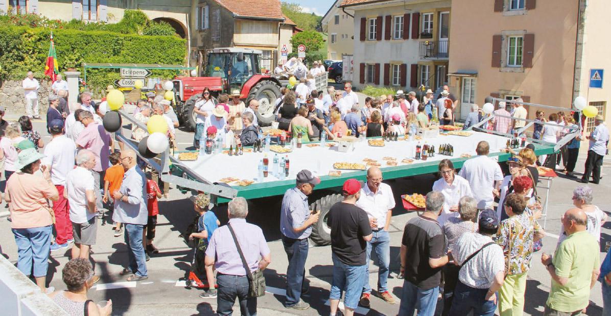 Lussery-Villars – Célébration du 20e anniversaire de la Commune